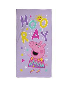 peppa-pig-balloons-towel