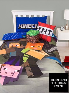 minecraft-good-guys-duvet-cover-set
