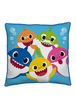 Baby Shark Baby Shark Family Square Cushion Picture