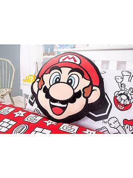 Mario Mario Shaped Cushion Picture