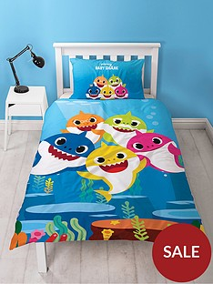 baby-shark-underwater-single-duvet-cover-set