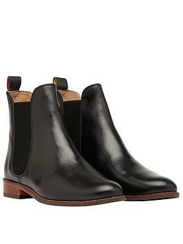 Joules Joules Westbourne Leather Chelsea Boots - Black Picture