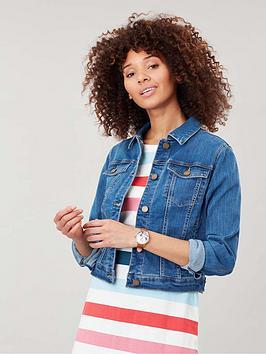 Joules Joules Elsa Denim Jacket - Blue Picture