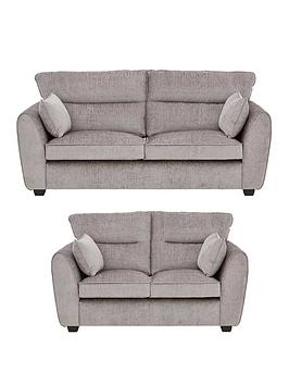 Very Tamora Fabric 3 Seater + 2 Seater Sofa Set (Buy And Save!) Picture