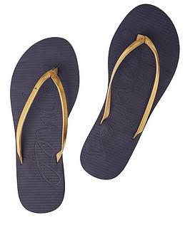 Joules Joules Luxe Flip Flops Picture