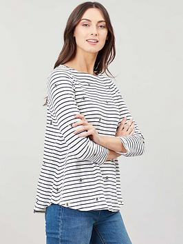 joules-harbour-light-jersey-top-multi