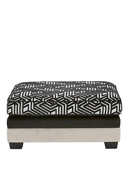 Very Atmos Fabric Footstool Picture