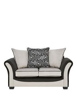 Very Atmos Fabric 2 Seater Scatter Back Sofa Picture