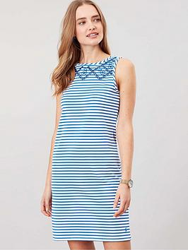 Joules Joules Joules Riva Sleeveless Jersey Print Dress Picture