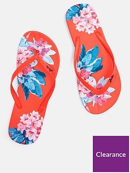 joules-flip-flops-red