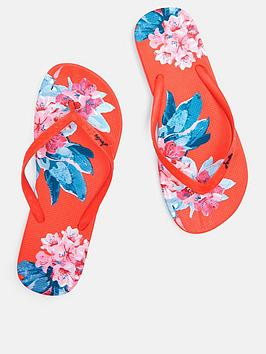 Joules Joules Flip Flops - Red Picture