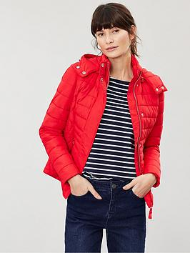 Joules Joules Linden Short Padded Jacket - Red Picture
