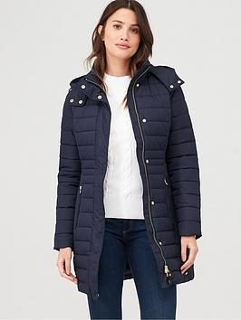 joules-thirlmere-long-padded-coat-navy