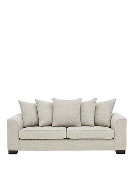 Very Caspian Fabric 3 Seater Scatter Back Sofa Picture