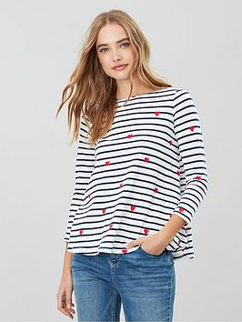 Joules Joules Harbour Light Swing Jersey Top - Multi Picture