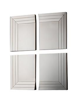 Gallery Gallery Set Of 4 Quart Mirrors Picture