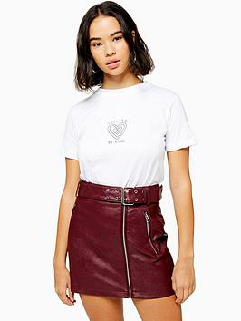 topshop-petite-cool-to-be-kind-t--shirt-white