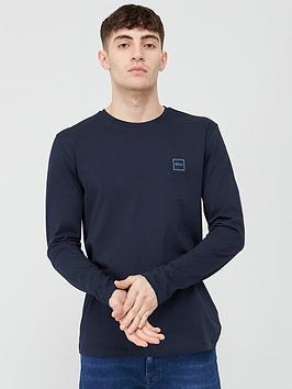 Boss Boss Tacks Long Sleeve T-Shirt - Navy Picture