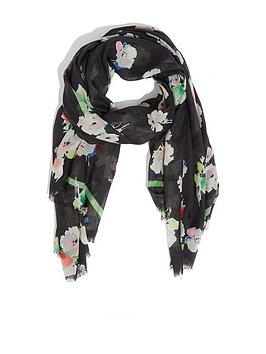 Oasis Oasis Colour Merci Floral Scarf - Multi Picture