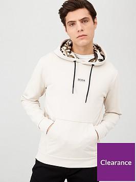 boss-kapok-overhead-hoodie-light-grey