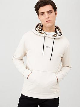 Boss Boss Kapok Overhead Hoodie - Light Grey Picture