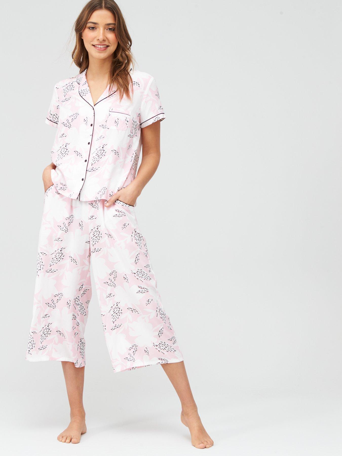 Womens Mini Maxi Shorts Pyjama Bottoms Pour Moi