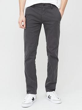 Boss Boss Schino Slim Fit Chino Trousers - Washed Dark Picture