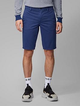 Boss Boss Schino Slim Fit Chino Shorts - Navy Picture