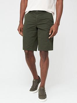 Boss Schino Slim Fit Chino Shorts - Khaki