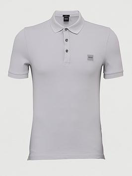 Boss Boss Passenger Polo Shirt - Light Grey Picture