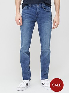 boss-delaware-slim-fit-washed-stretch-jeans-light-blue