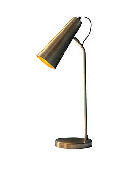 Gallery Gallery Kam Table Lamp In Gold Picture