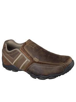 Skechers Skechers Bike Toe Slip On Shoe - Brown Picture