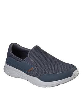 Skechers Skechers Equalizer 4.0 Slip On Trainers - Grey Picture