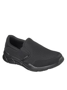 skechers-equalizer-40-slip-on-trainer-black