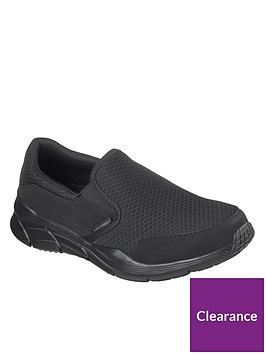 skechers-equalizer-40-slip-on-trainer-black