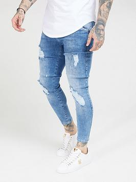 Sik Silk Sik Silk Distressed Skinny Jeans Picture
