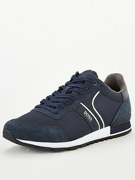 Boss Boss Parkour Runner Trainers - Navy Picture