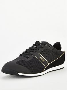 boss-glaze-low-profile-trainers-black