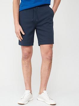 Boss  Headlo X Jersey Shorts - Navy