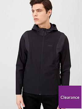 boss-swoven-hooded-jacket-black