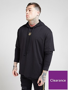 sik-silk-long-sleeved-essential-undergarment-chain-cuff-t-shirt-black