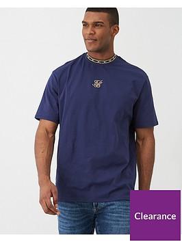 sik-silk-short-sleeve-tape-collar-essentials-t-shirt-navy