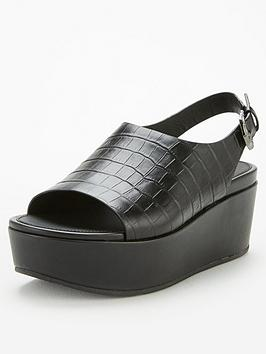 FitFlop Fitflop Eloise City Wedge Sandal - Black Picture