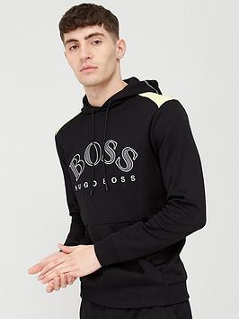 Boss Boss Soody Logo Overhead Hoodie - Black Picture