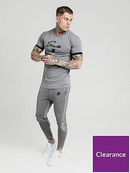sik-silk-creased-nylon-tracksuit-pants-grey