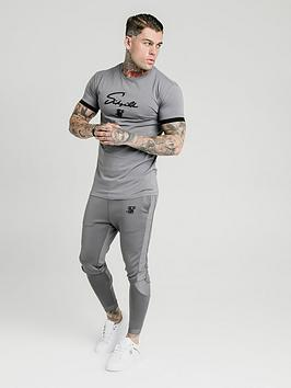 Sik Silk Sik Silk Creased Nylon Tracksuit Pants - Grey Picture