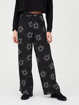 V by Very V By Very Elasicated Waist Trouser - Star Print Picture