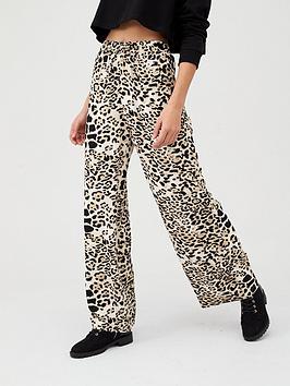 v-by-very-elasicated-waist-trouser-animal-print