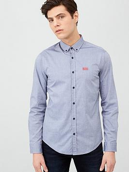 Boss Boss Biado Oxford Shirt - Navy Picture